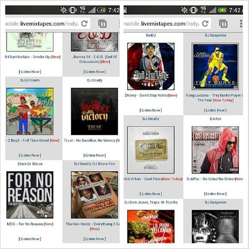 Download my new tape off Livemixtapes Fornoreason StackorStarve
