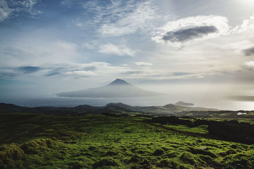 Faial Island Mountain Beauty In Nature Tranquil Scene Scenics Nature Tranquility Landscape Sky No People Day Outdoors Cloud - Sky Mountain Range