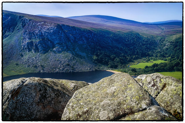 Beauty In Nature Day Dublin Mountains Idyllic Ireland Irelandinspires Ireland🍀 Landscape Lough Tay Mountain Mountain Range Nature Non Urban Scene Non-urban Scene Physical Geography Remote Rock Rock - Object Rock Formation Scenics Sky Tranquil Scene Tranquility Valley Wicklow