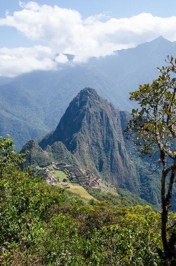 Andes Beauty In Nature Green Color Huayna Picchu Inca Lima Lush Foliage Macchu Picchu Machu Picchu Majestic Montana Machu Picchu Montana Picchu Peru South America Feel The Journey