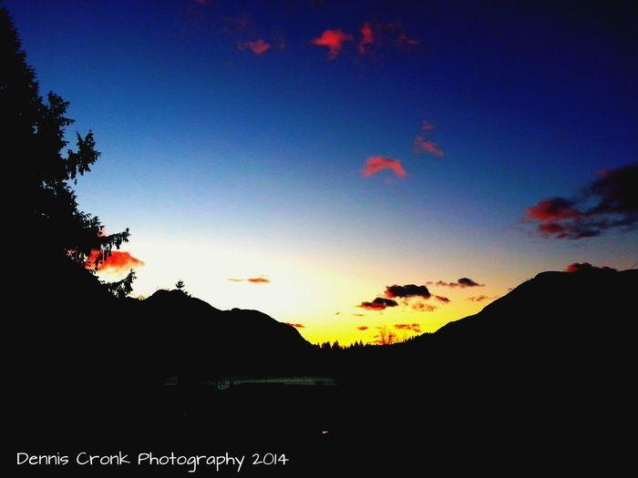 Enjoying Nature Check This Out just taken Hello World Nature EyeEm Best Shots - Nature The Art Of Mankind Sunshine Vanishing Point BC, Canada Sunsets