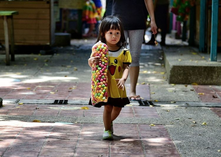Full Length Walking One Person Child People Day Outdoors Childhood Real People Young Adult