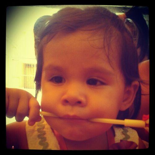 Valentina les dice TeQuieroLima Lima Igersperu Instagramperu Aniversario Peru baby love like followme