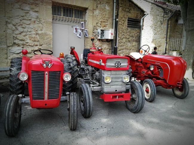 Tracteur Tractor Tractors Agriculture Vigneron Vintage Vin