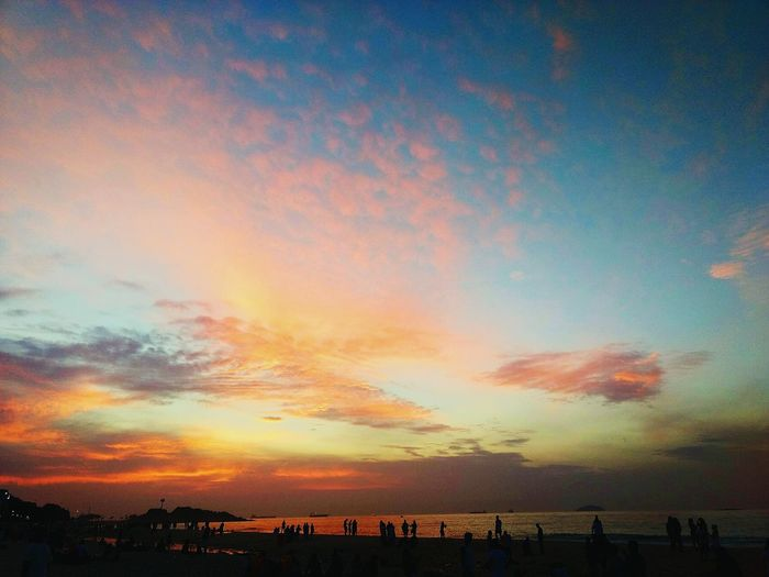Cloud - Sky Dramatic Sky Sky Sunrise Outdoors Rio De Janeiro Ipanema Beach Ipanema Summer