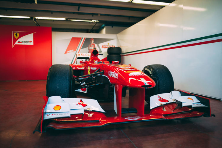 Formel 1 Formel 1 Racing Scuderia Ferrari Car Competition Mugellocircuit Red Sport