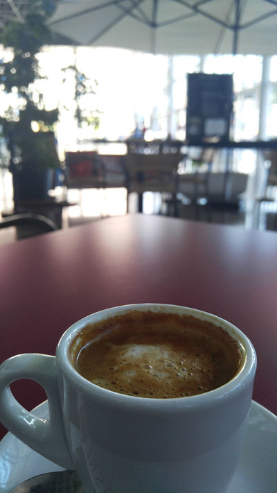 Bus interchange Cafe Coffee - Drink Coffee Cup Focus On Foreground Refreshment Relax