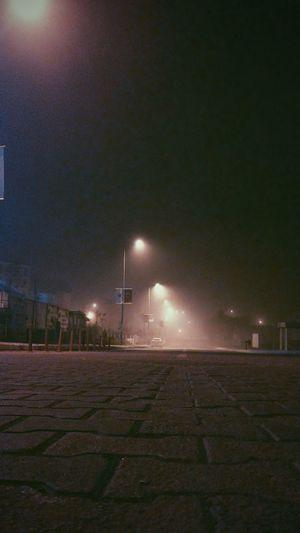 #foggy #foggy #Sunrise #Morning Illuminated Soccer Field