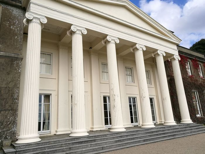 Architecture Built Structure Architectural Column Building Exterior History Low Angle View Sky Column Façade Pediment Outdoors Historic The Past Day In A Row Entrance Pillar Colonnade Famous Place Tourism