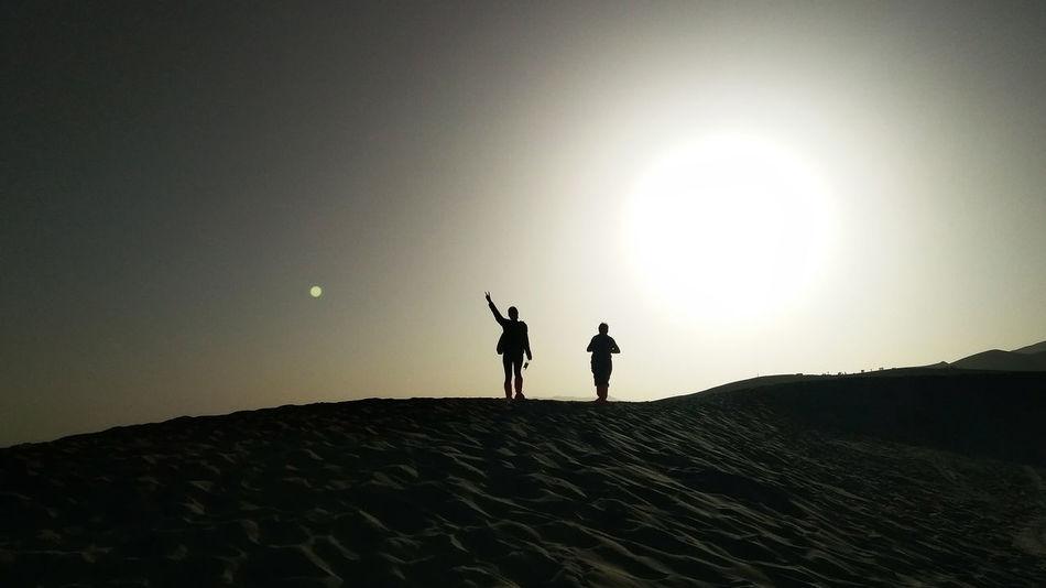 Day Outdoors 敦煌 沙漠