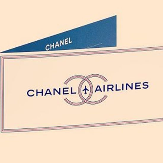 Chanelairlines taking off Oct. 6 Pfw SS16