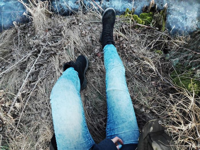 Ice Legs Shoes Grass Grey Water First Ice Crystal Grassland Footwear Frozen Lake Blade Of Grass First Eyeem Photo