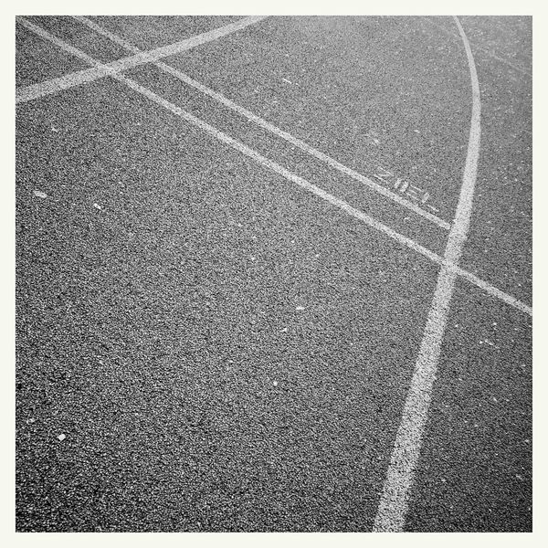 direction... Minimalism Black & White Sportsground Textures And Surfaces Pattern Pieces