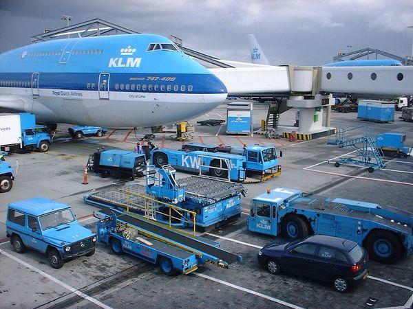 Airport Schiphol KLM