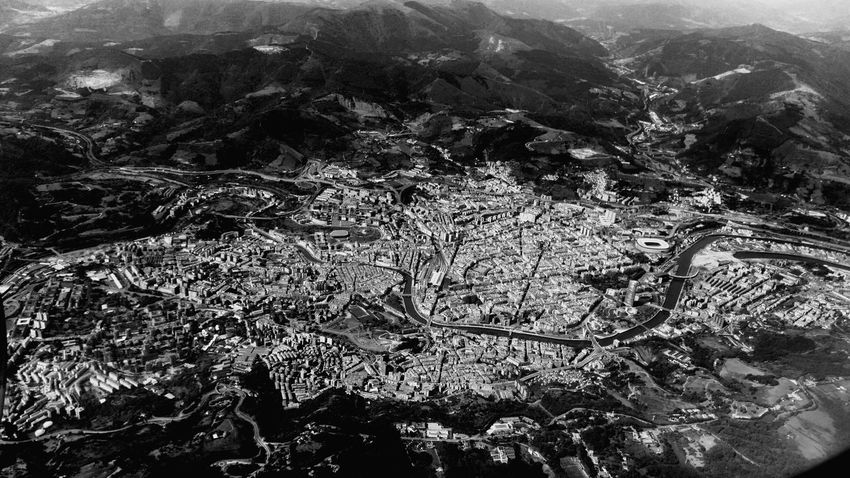 Flying from Menorca to Bilbao, Aerial views. 2015, July 3rd. Menorca Bilbao Landscape Flying Monochrome Aerial Photography Aerial View Aerial Blackandwhite