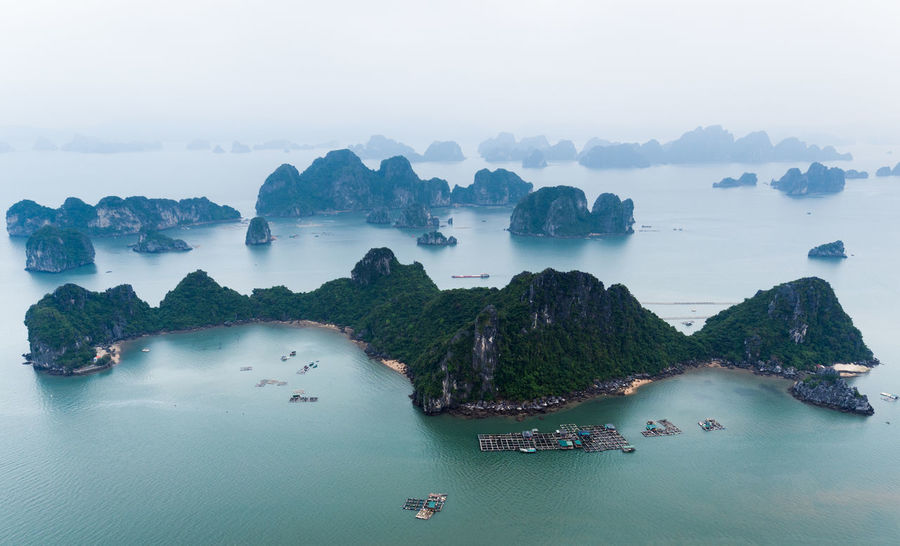 Perspectives On Nature Landscape Bai Tu Long Bay Ha Long Ha Long Bay Dronephotography Drone  Droneshot Drone Photography