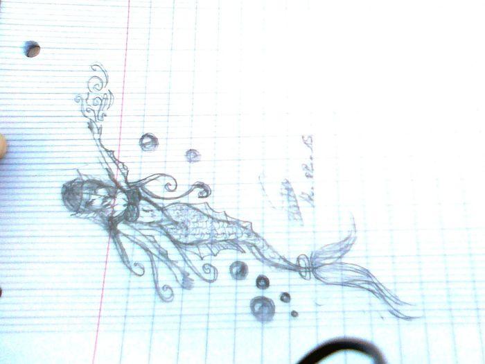 Drawing Tatoo Girl
