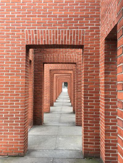 View Of Brick Archway