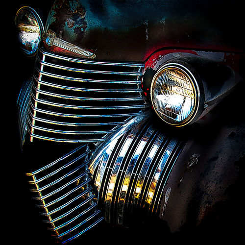 Car Grillsmotor Cross Headlight Old Cars ❤ Pontiac