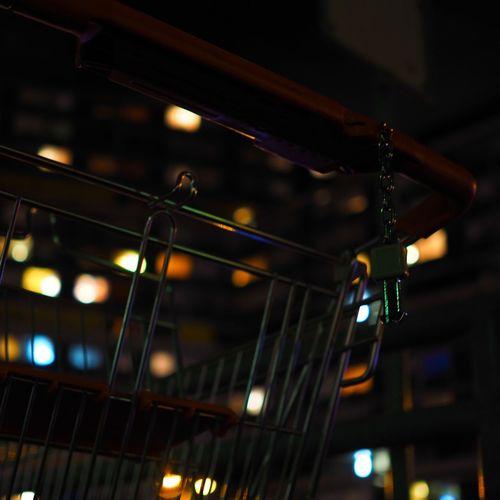 Bokeh Close-up Day Illuminated Low Angle View No People Shopping Shopping Cart