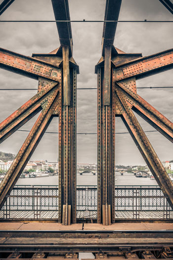 Welcome to my Spaceship. Architecture Bridge Bridge - Man Made Structure Built Structure Connection Czech Republic Metal Modern Architecture No People Prague Steel Steel Structure  Symmetry Technical Urban Urban Geometry