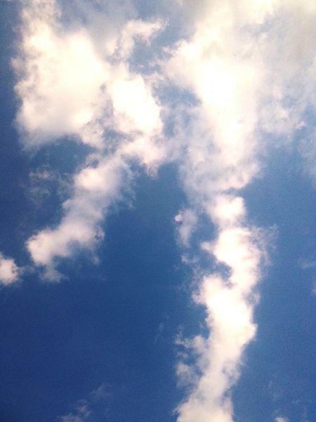 My Love Sunny Days Good_mood The Blue Sky 😄😄😄Nice!