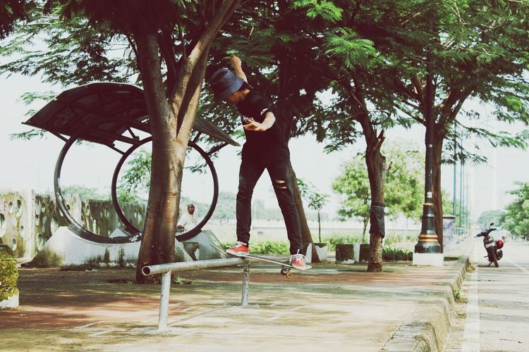 Streetphotography Enjoying Life Skateboarding Relaxing