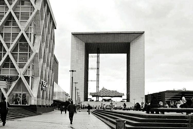 Amazing Architecture France Paris Grandearche Design Ladefense Travel 1982
