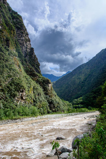 Peru Beauty In Nature Cloud - Sky Day Mountain Nature No People Outdoors River Scenics Sky Water