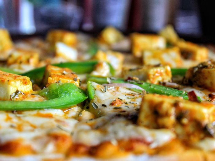 Food Food And Drink Pizza Selective Focus Freshness Close-up Still Life Indoors  Ready-to-eat No People Vegetable Indulgence Dairy Product Cheese Italian Food Unhealthy Eating Serving Size Wellbeing Temptation Green Color Snack