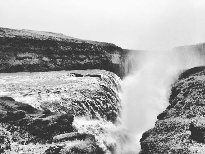 Waterfall Icelandtrip Waterfall Winter