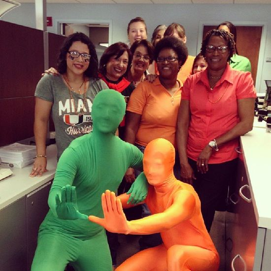 Spirit day at work!!! Its all about the U! Love my school! Canes Universityofmiami Employee Student