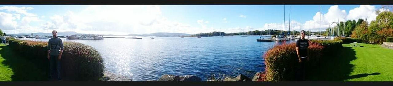 Panoramic Water Sky Travel Destinations Tourism Sea And Sky Ireland🍀 Mountshannon, Clare