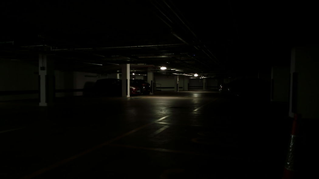 Carpark. Carpark Darkness And Light darkness Meinautomoment