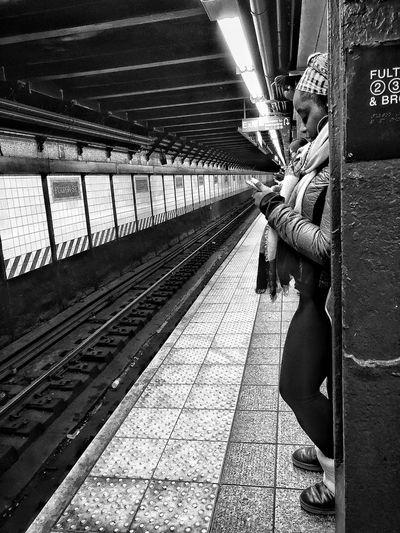 this night in Brooklyn~* Subway Public Transportation MTA Soulz~