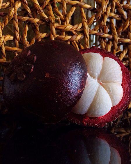 Everyday Lives Today's Photos Island Haynan Fruits Delicious Fruit Мангостин (Mangosteen) Food