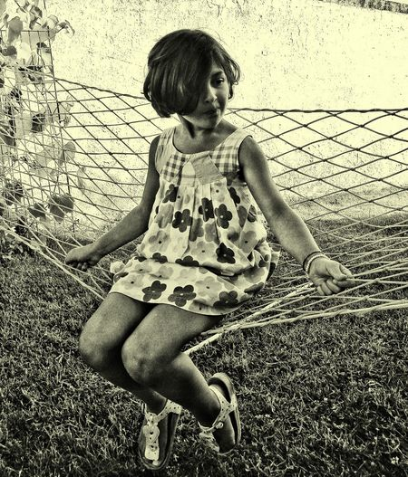 Outdoors People Children Only Day Full Length Child One Person Childhood Girls Sitting