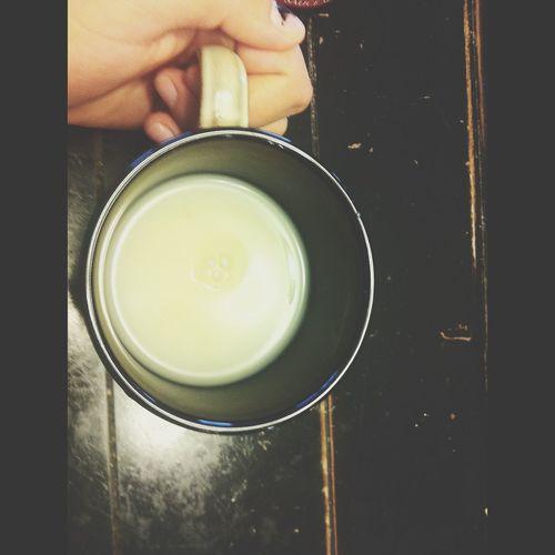 tea on a sick, rainy day