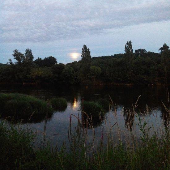 Lune Moon Rivier Dordogne