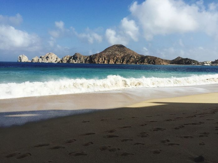 Day after hurricane Blanca. Cabo San Lucas Cabo Beach Blue Water Vacation