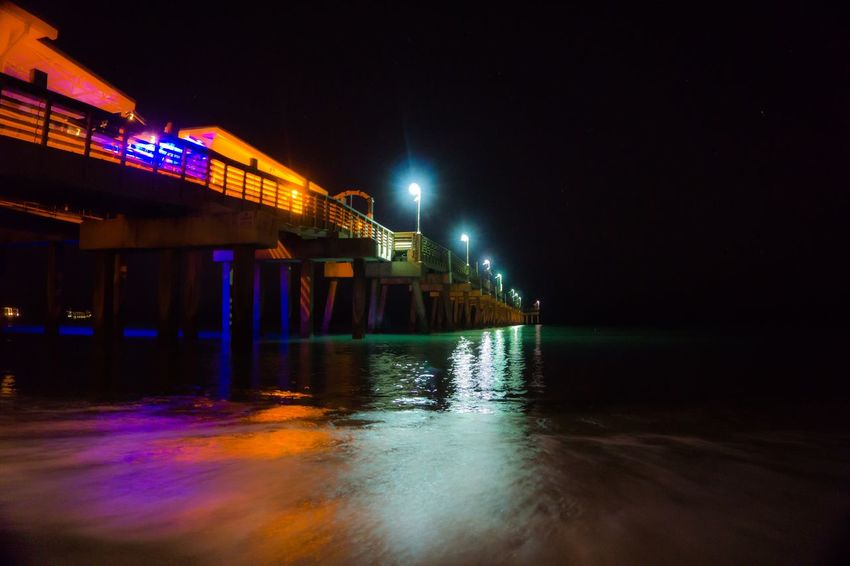 Dania Beach Long Exposure Long Exposure Showcase March Beach Photography Taking Photos Florida Latenight