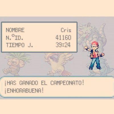 A esto me dedico mientras tomo el sol Pokémon Viciao Firered GBA