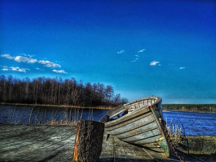 Eyem Eyemphotography EyEmNewHere Russia Kisegach Water Sea Blue Boat Water Vehicle
