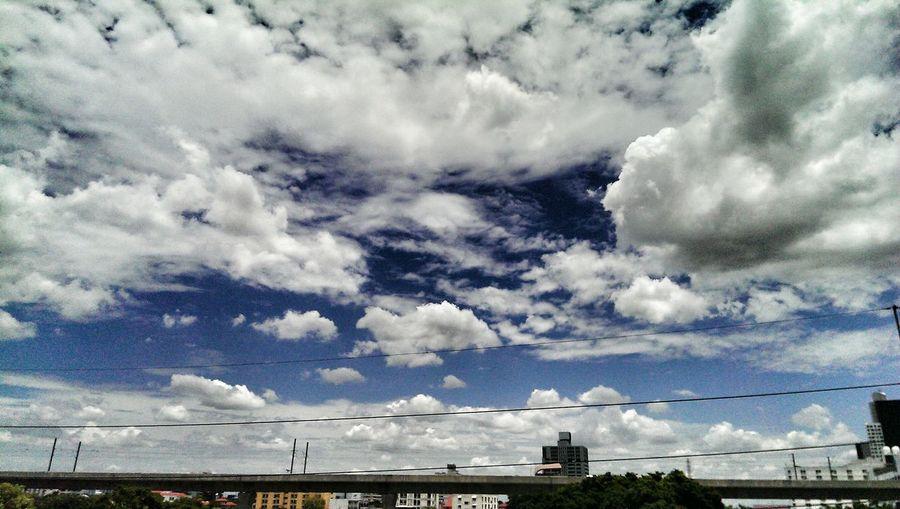 Bangkok Sky Clouds And Sky