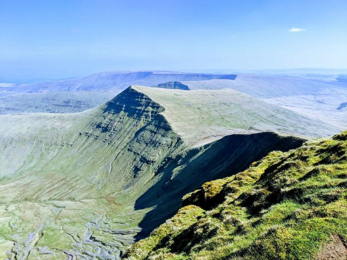 View from Pen Y