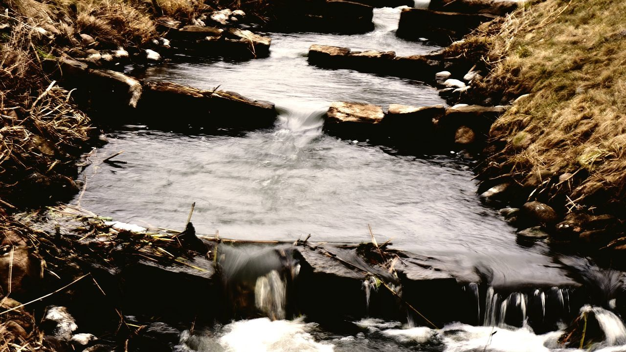 water, nature, motion, outdoors, no people, river, beauty in nature, waterfall, tranquility, day, shallow
