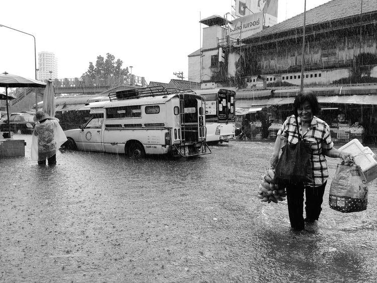 Heavy Rain Street