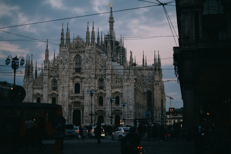 Architecture Built Structure Cathedral City Cloud - Sky Dome Milan Milano Place Of Worship Religion Sky Tourism Travel Destinations