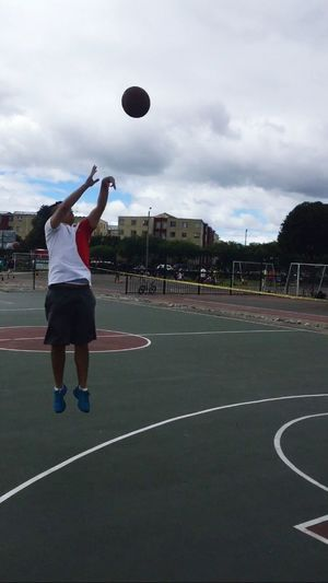 Basketball Three Points Shooting Love Sports ThatsMe Hello World