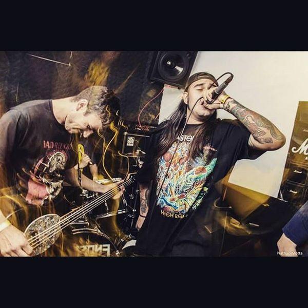 Rechazo (Argentina) no estúdio Warzone- Santos (10/07/2015) Hardcore Rechazo Hc Show Warzone Foto Fotografia Photo